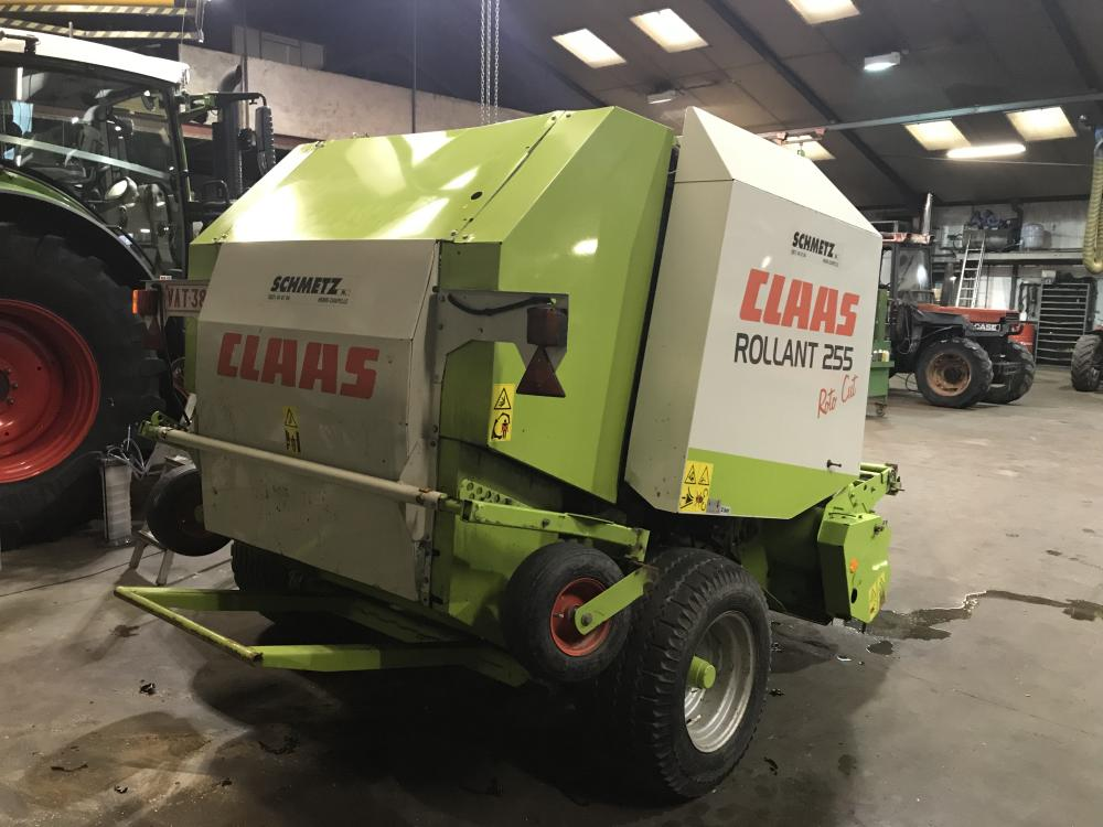 Presse , ronde , claas´, Rollant , 255 , roto cut