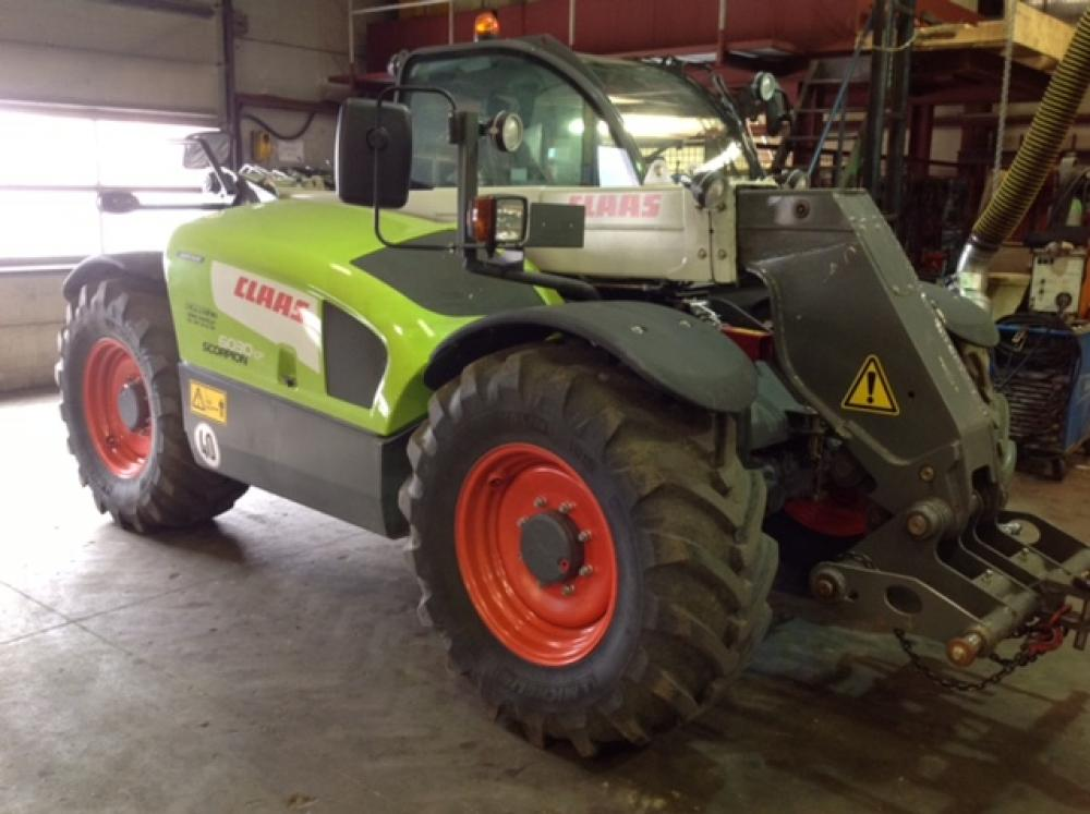 telescopique, claas, scorpion, 6030, levage